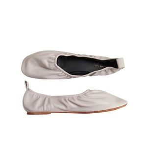 Celine Soft Ballerina Shoes in Gray Leather